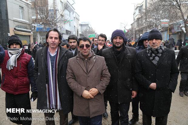 راهپیمایی باشکوه ۲۲بهمن - اردبیل