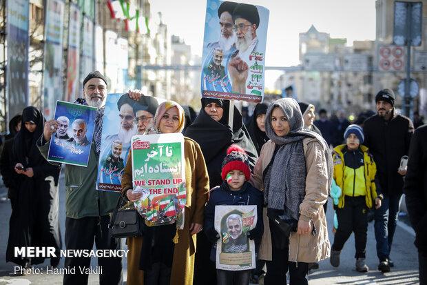 راهپیمایی باشکوه ۲۲ بهمن - تهران
