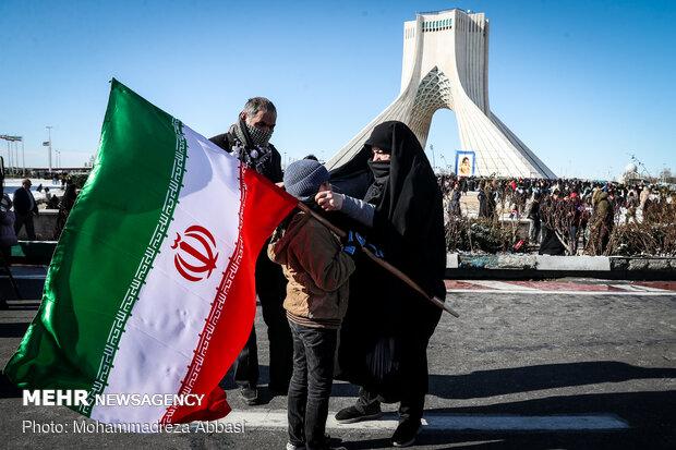 راهپیمایی باشکوه ۲۲ بهمن- تهران