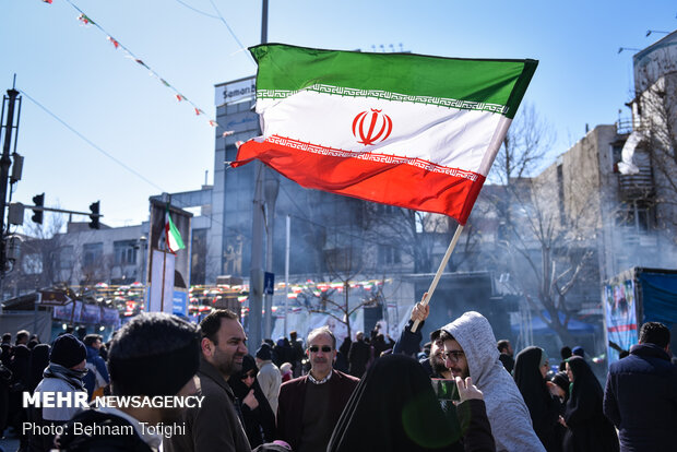 Tehraners mark 41st victory anniversary of Islamic Revolution