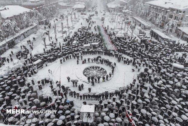 راهپیمایی باشکوه ۲۲بهمن - رشت