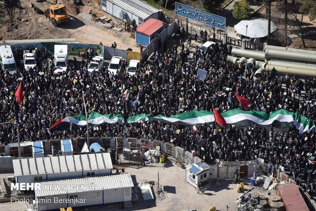February-11 rallies in Shiraz