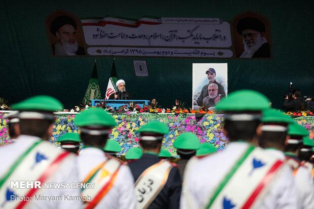 راهپیمایی باشکوه ۲۲ بهمن - میدان آزادی