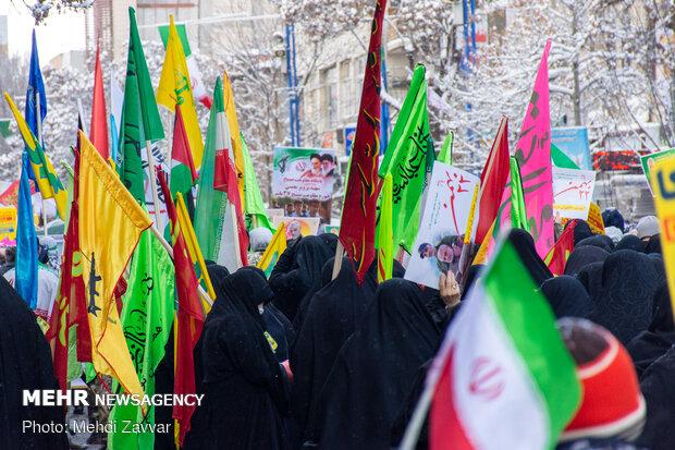 February-11 rallies in Urmia