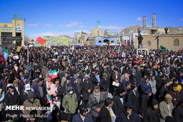 February-11 rallies in Shahr-e Kord