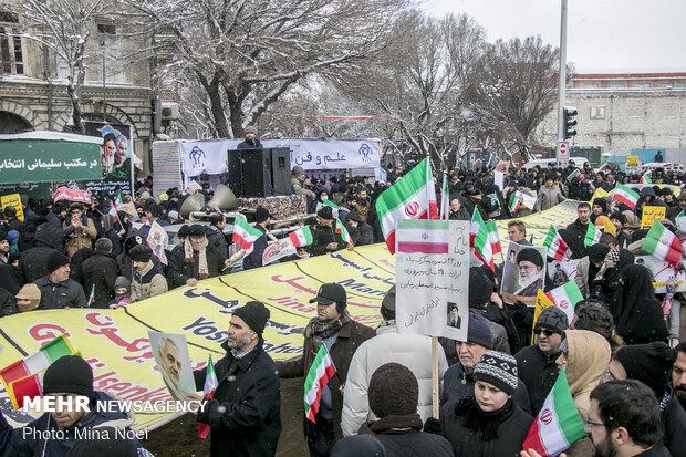راهپیمایی باشکوه ۲۲بهمن- تبریز