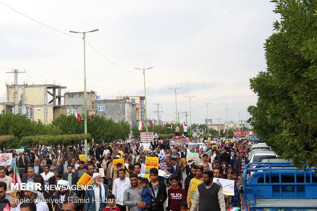 راهپیمایی باشکوه ۲۲بهمن- هشت بندی