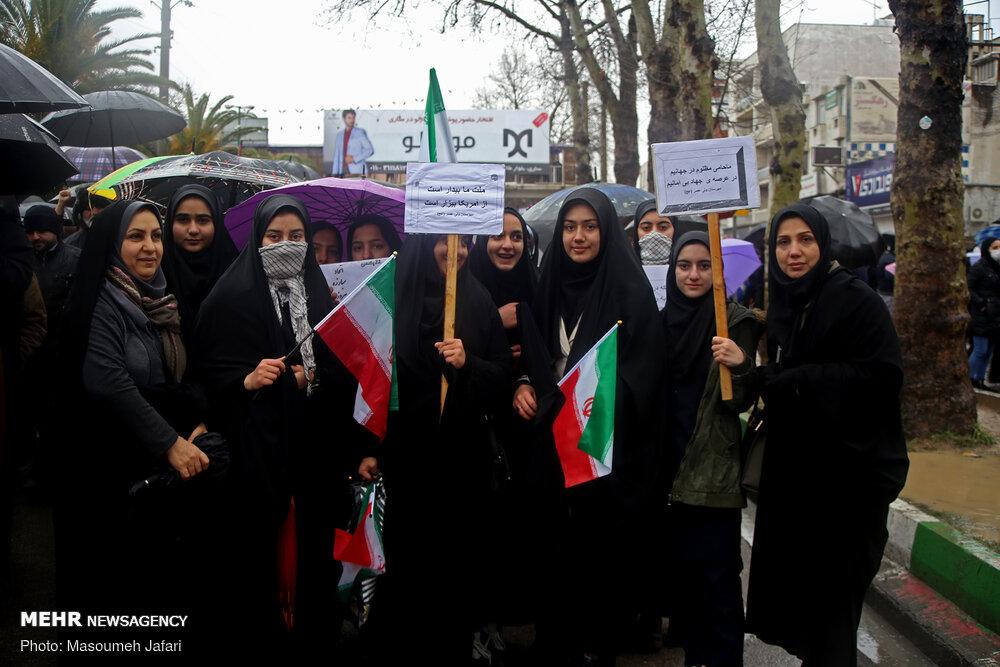 راهپیمایی باشکوه ۲۲بهمن - ساری