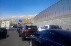 تردد در آزاد راه تهران - شمال برقرار است