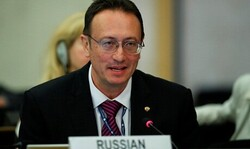 Russian Foreign Ministry's Department for Nonproliferation and Arms Control Director Vladimir Ermakov