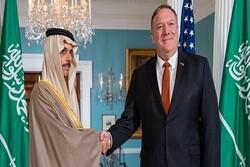 وزیران خارجه آمریکا و عربستان درباره تحولات منطقه رایزنی کردند