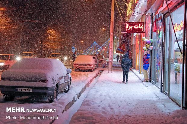 شب های برفی اردبیل