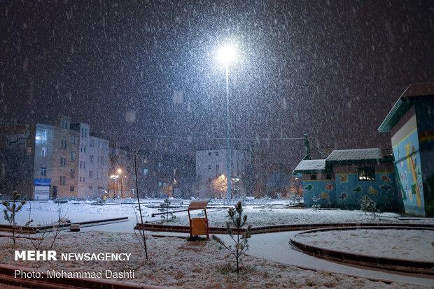 ليالي ثلجية في أردبيل