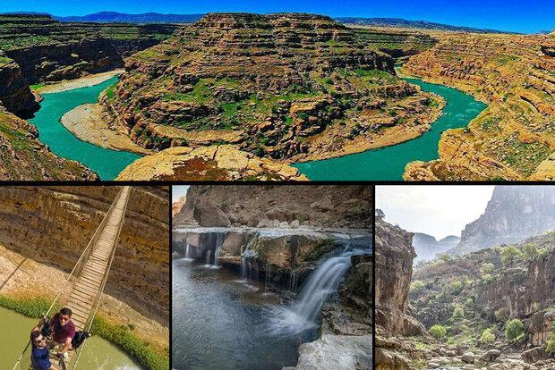 «دره خزینه»خزانهای از زیباییهای طبیعت/ سفر به گرند کانیون ایران