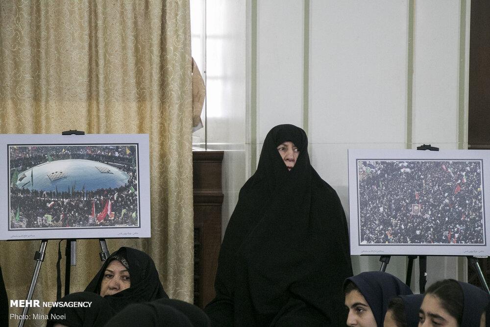 مراسم اربعین شهید سپهبد حاج قاسم سلیمانی و همرزمانش در تبریز