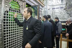 حضرت شاہ عبدالعظیم کے روضہ سے غبار صاف کرنے کی تقریب منعقد