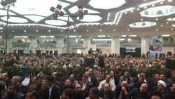 آئین چهلمین روز شهادت سپهبد شهید سلیمانی آغاز شد