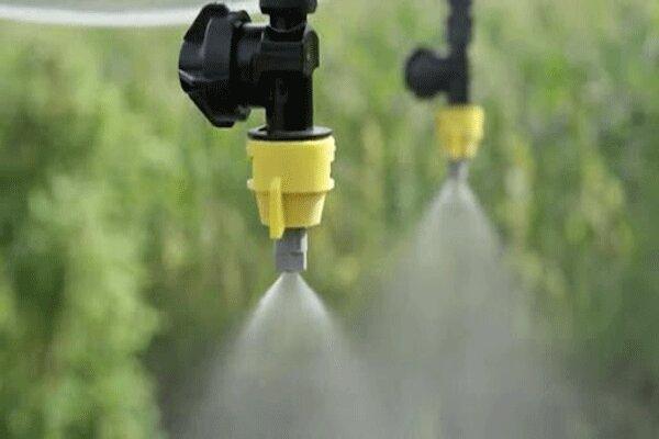 ۲۵ هزار هکتار اراضی کشاورزی به سیستم آبیاری نوین مجهز شدند