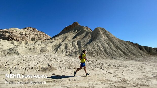 Marathon contest in Qeshm Island