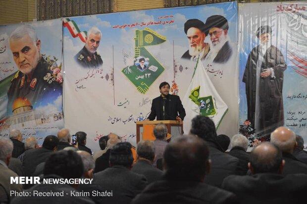 آیین بزرگداشت اربعین سردار سلیمانی در تبریز
