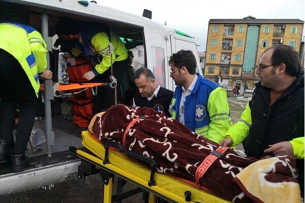 ۹۸۴ مورد امدادرسانی در برف و یخبندان توسط اورژانس گیلان