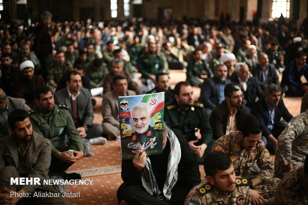 40th day of Gen. Soleimani's martyrdom commemorated in Gorgan