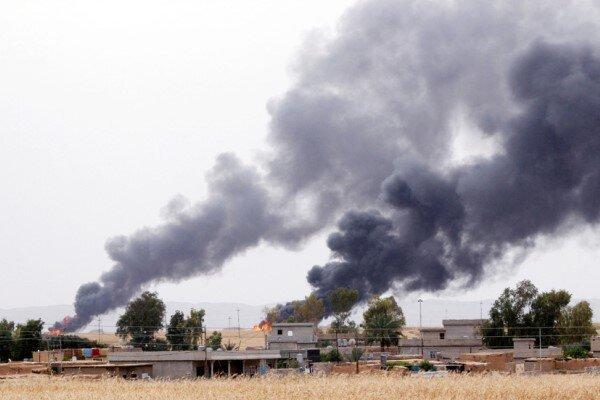 حمله راکتی به پایگاه نظامیان آمریکا در کرکوک عراق