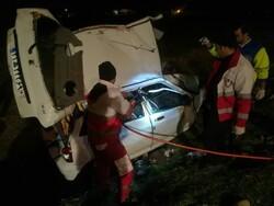 تصادف پراید و سمند در گلستان ۶ کشته و یک مصدوم برجای گذاشت