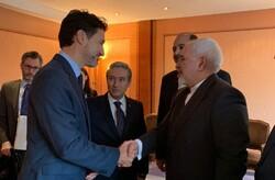 Dışişleri Bakanı Zarif Kanada Başbakanı ile görüştü
