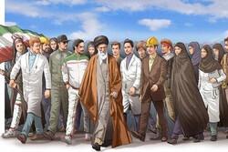اجرای بیانیه گام دوم انقلاب بر عهده حلقههای مردمی است