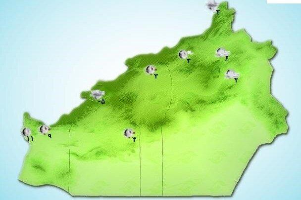 کولاک در ارتفاعات استان سمنان/ وزش باد ادامه دارد