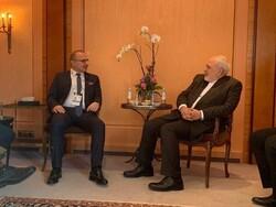 ظريف يلتقي مع نظيريه العماني والكرواتي في ميونيخ