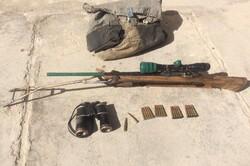 کشف ۴ سلاح شکاری در شاهرود/ یک کفتار در تصادف جادهای تلف شد