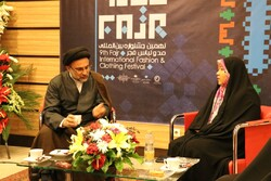 بازدید رئیس سازمان اوقاف و امور خیریه از جشنواره مد و لباس فجر