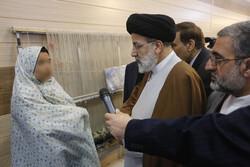 عدلیہ کے سربراہ نے خواتین کے زندان کا قریب سے مشاہدہ کیا