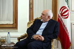 ظريف يبحث مع نظيرته الاسبانية سبل تعزيز الثقة والتعاون بين ايران واوروبا