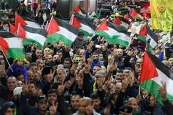 """فعاليات ضخمة في قطاع غزة رفضاً ل""""صفقة القرن"""""""