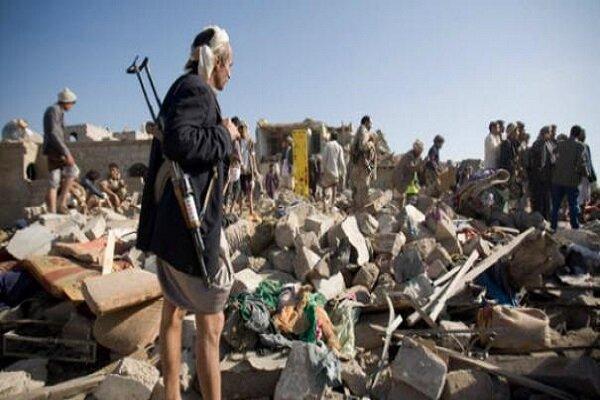 30 شهيدا وعدد من الجرحى بينهم نساء وأطفال إثر غارات العدوان على مديرية المصلوب