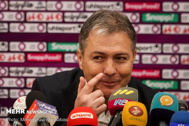 National team head coach presser