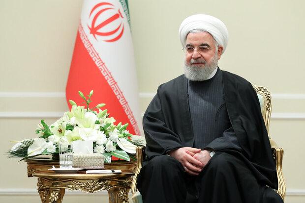 Pres. Rouhani congratulates Tajik counterpart on re-election