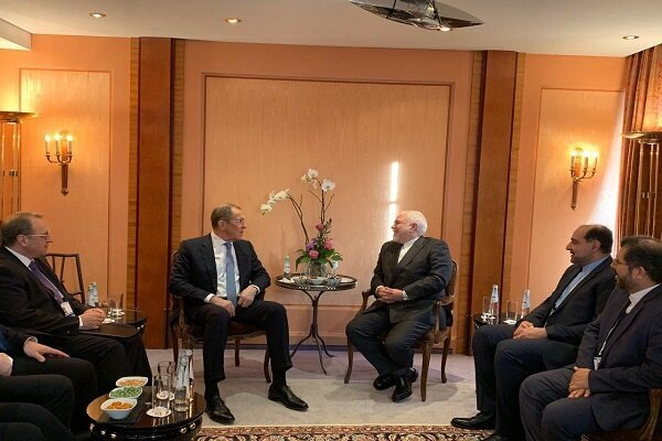 Iranian, Russian FMs hold bilateral talks in Munich