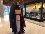 مسابقه زنده طراحی و دوخت چادر و مانتو عبایی برگزار شد