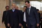 İran Meclis Başkanı, Beşar Esad ile İdlib'i görüştü