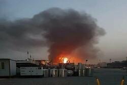 بغداد میں امریکی سفارتخانے کے قریب راکٹوں سے حملہ