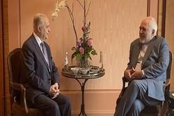 Zarif Münih'te Iraklı mevkidaşı ile görüştü