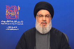 Nasrallah hails resistance of Iranian nation