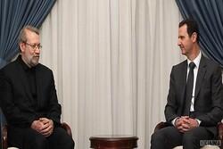 Tehran backs Syria's fight against terrorists: Parl. Speaker