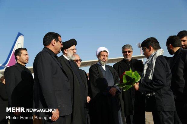 Judiciary chief visits Kerman prov.