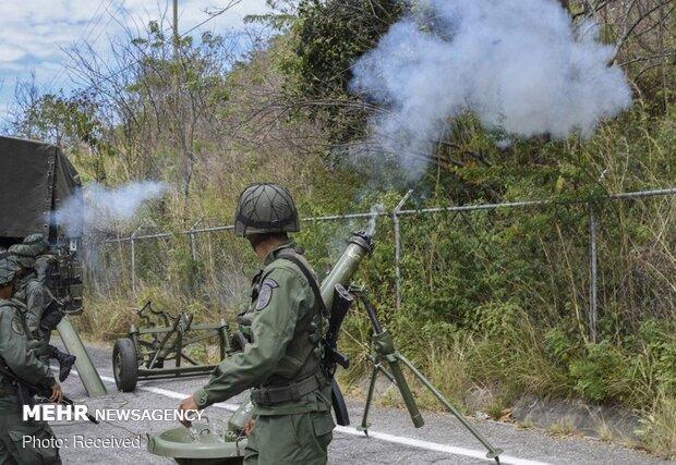مانور ارتش ونزوئلا در بحبوحه تنش با آمریکا