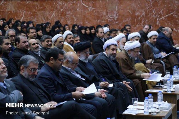 دیدار حجت الاسلام رئیسی با کارکنان دستگاه قضا در استان کرمان